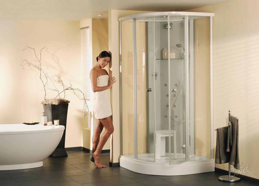 Какие кабинки для душа можно установить девушке в своей ванной